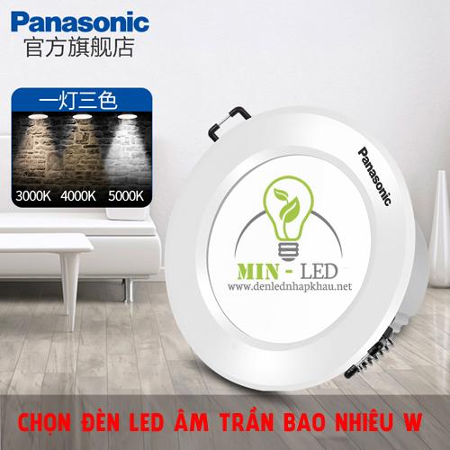 Đèn LED âm trần bao nhiêu W là đủ ánh sáng cho nhà bạn?