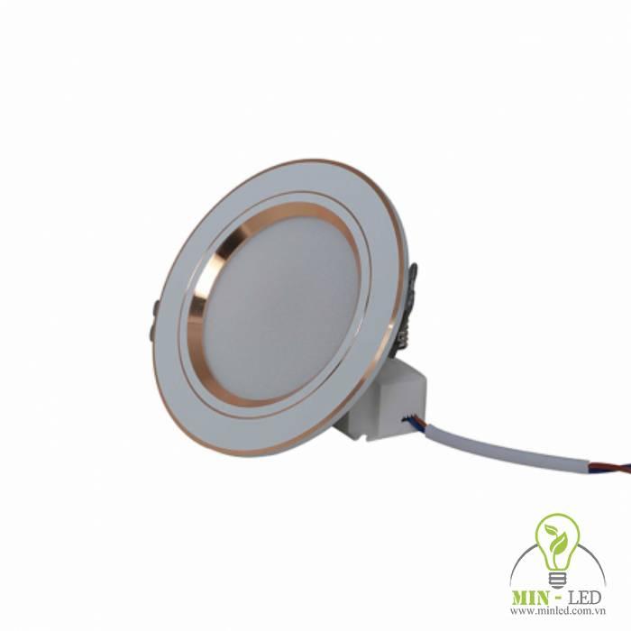 Đèn LED âm trần downlight đổi màu AT10 ĐM 90/7W