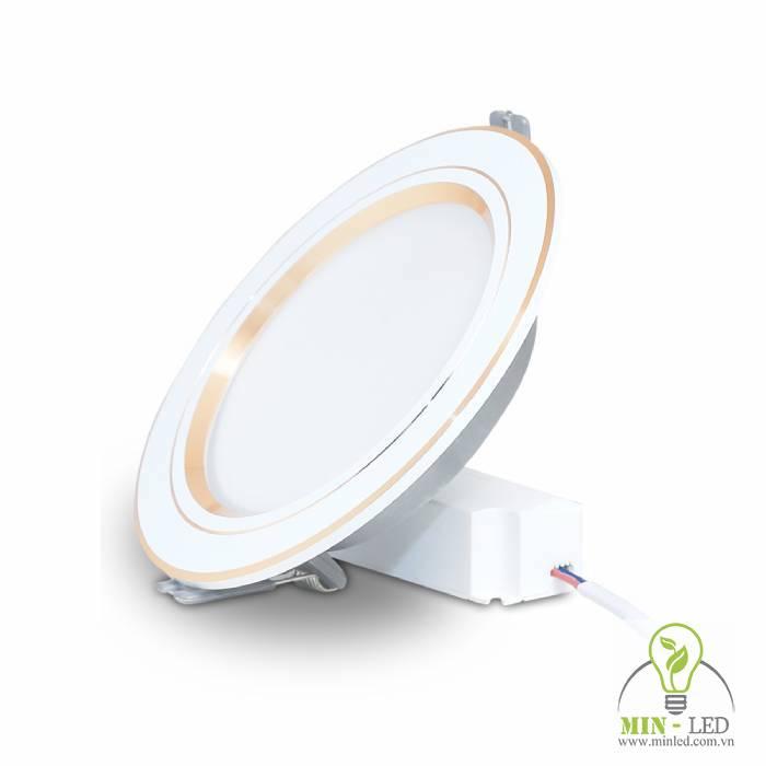 Đèn LED âm trần downlight đổi màu AT10 ĐM 110/9W