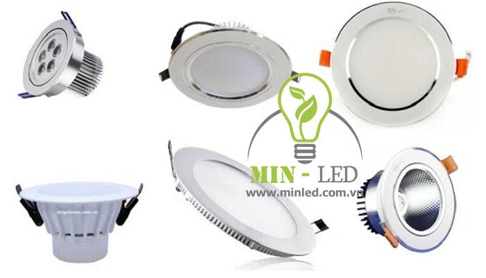 Chất liệu là lựa chọn hàng đầu khi chọn đèn LED âm trần