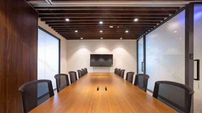 Đèn LED âm trần văn phòng cao cấp có thể được sử dụng tại phòng hội nghị, sảnh hay phòng giám đốc,...