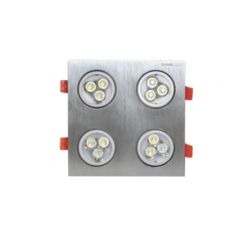 Đèn LED âm trần Duhal 12W SDFC204