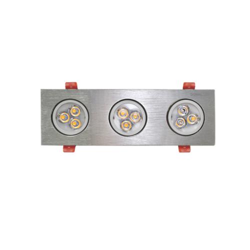 Đèn LED âm trần Duhal 9W SDFC203