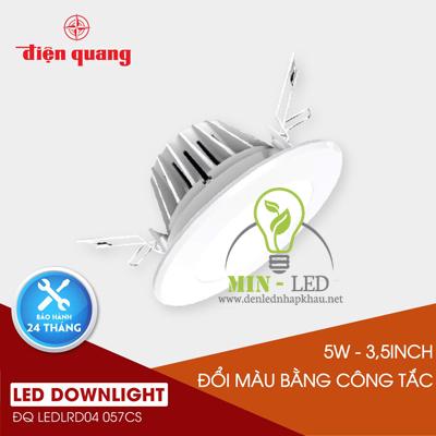 Đèn Led âm trần Điện Quang 5W LRD04 đổi màu