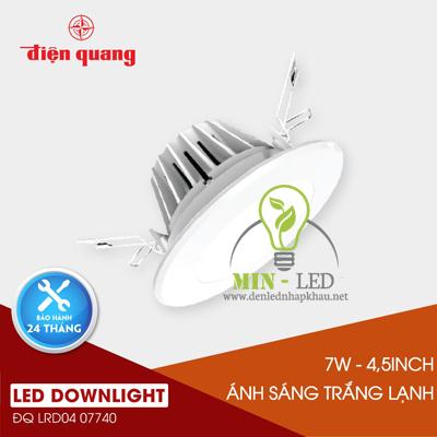 Đèn Led âm trần Điện Quang Coowhite 7W LRD04