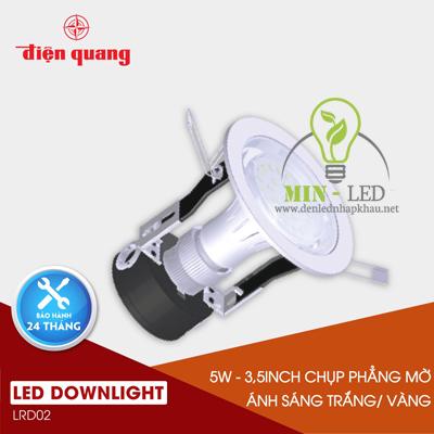 Đèn Led âm trần Điện Quang Daylight 5W LRD02