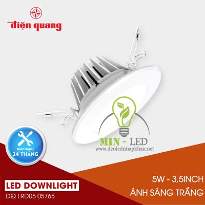 Đèn Led âm trần Điện Quang Daylight 5W LRD05