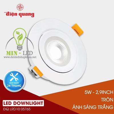 Đèn Led âm trần Điện Quang Daylight 5W LRD10