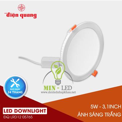 Đèn Led âm trần Điện Quang Daylight 5W LRD12