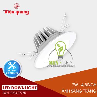 Đèn Led âm trần Điện Quang Daylight 7W LRD04