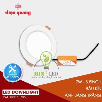 Đèn Led âm trần Điện Quang Daylight 7W LRD07 90-V02