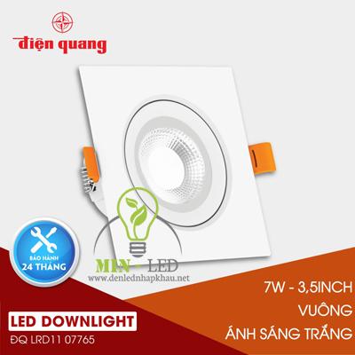 Đèn Led âm trần Điện Quang Daylight 7W LRD11
