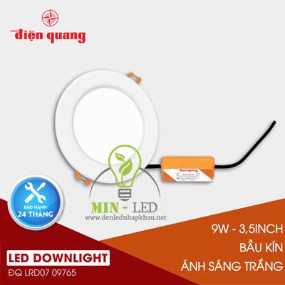 Đèn Led âm trần Điện Quang Daylight 9W LRD07
