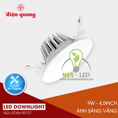 Đèn Led âm trần Điện Quang Warmlight 9W LRD04