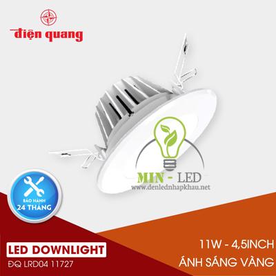 Đèn Led âm trần Điện Quang Warmwhite 11W LRD04