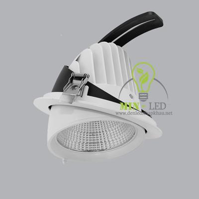 Đèn Led âm trần MPE 35W điều chỉnh