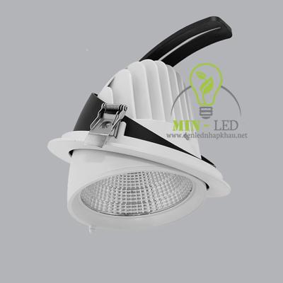 Đèn Led âm trần MPE 50W điều chỉnh