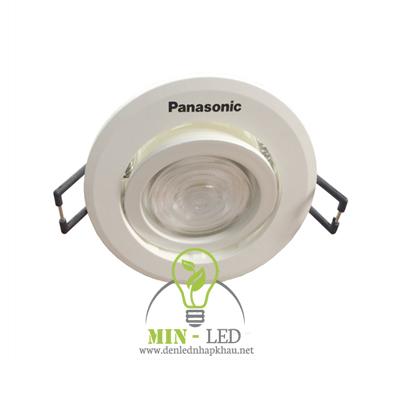 Đèn Led âm trần Panasonic 7W NNP21102 điều chỉnh góc chiếu