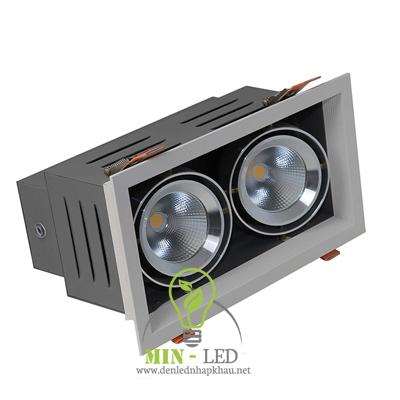 Đèn Led âm trần Rạng Đông COB 9Wx2 RD-AT12L