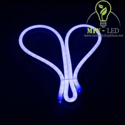 Đèn led dây Duhal 6W NEON bẻ góc hai chiều ánh sáng xanh lam 6W/M NEL01