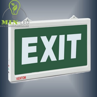 Đèn led Exit Kentom 1 mặt KT610