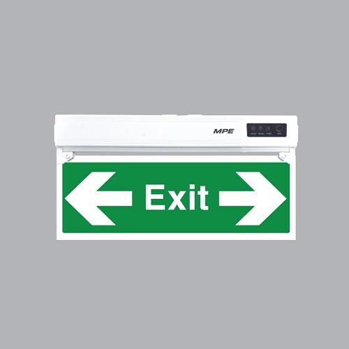den-led-exit-mpe-3w-1-mat-trai-phai-exlr