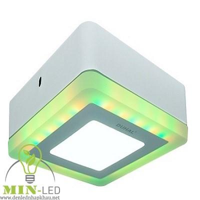 Đèn Led panel Duhal đổi màu 12W DMB512