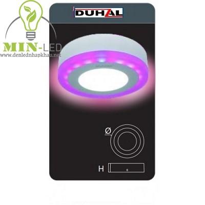 Đèn Led panel Duhal đổi màu 12W DMC512