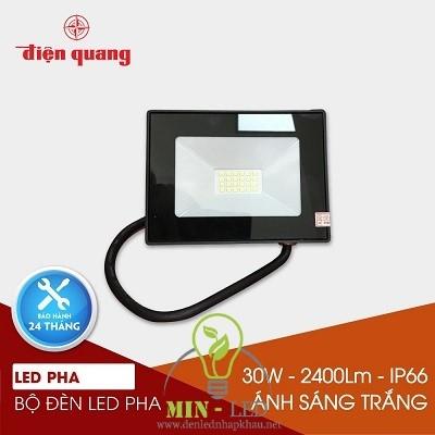 Đèn led pha Điện Quang 10W led FL30 10765