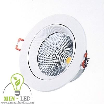 Đèn Led rọi ray âm trần Điện Quang 12W LEDRSL11 12730