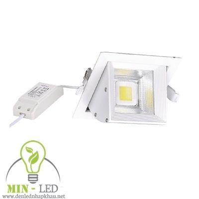 Đèn Led rọi ray âm trần Điện Quang 20W LEDRSL07 20727
