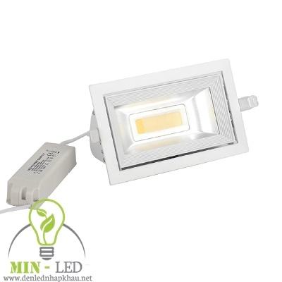 Đèn Led rọi ray âm trần Điện Quang 45W LEDRSL07 45765