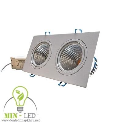 Đèn Led rọi ray Điện Quang 20W LEDRSL20 20730-DU10x2