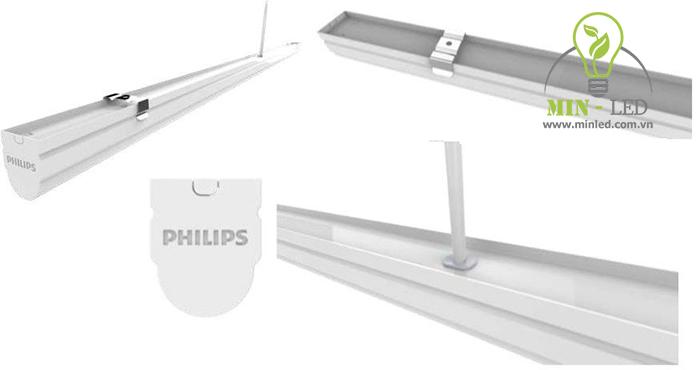 Bóng đèn tuýp LED tube 1.2m 20W Philips có cấu tạo tinh gọn nhẹ nhàng -1