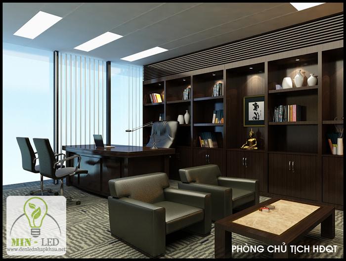 Dự án thi công đèn Led văn phòng tại công ty cổ phần Nam Việt