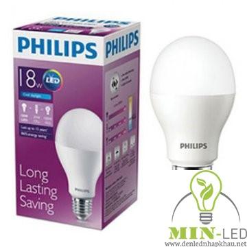 Đèn led Bulb Philips 18W E27 6500K/3000K 230V A67