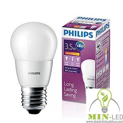 Đèn led Bulb Philips 3W/3.5W E27 6500K/3000K 230V P45