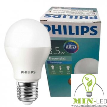 Đèn led Bulb Philips ESS G3 3.5W E27 A60 APR