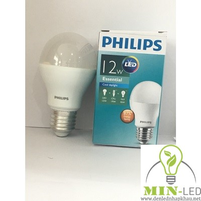 Đèn led Bulb Philips Essential 12W-95W A60