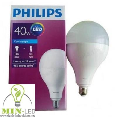 Đèn led Bulb Philips HiLumen 40W A130