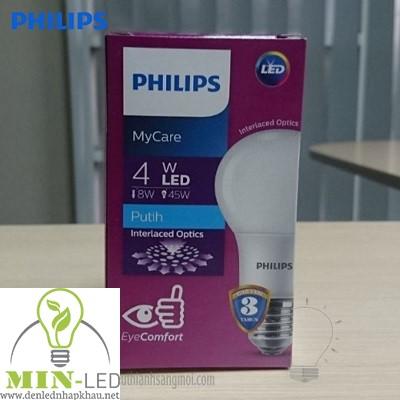 Đèn led Bulb Philips MyCare 4W E27 1CT/12 APR
