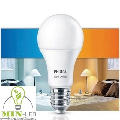 Đèn led Bulb Philips SceneSwitch 9.5W-60W E27