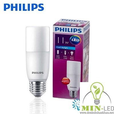 Đèn led Bulb Philips Stick 11W E27