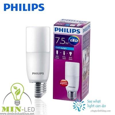 Đèn led Bulb Philips Stick 7.5W E27