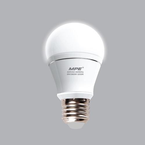 Đèn LED Bulb MPE 9W LBA-9T-V