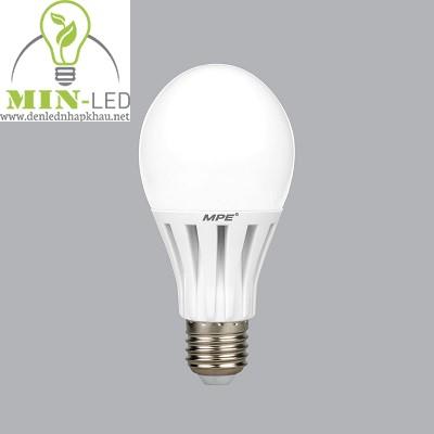 Đèn led Bulb MPE 12W LB-12V trắng, vàng