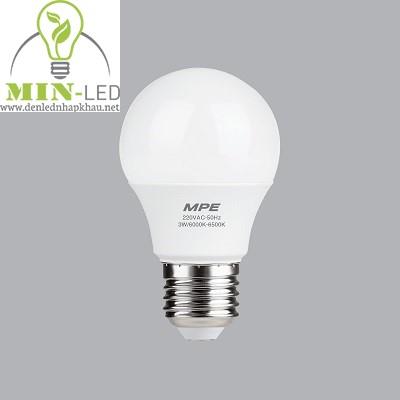 Đèn led Bulb MPE 3W LBD-3
