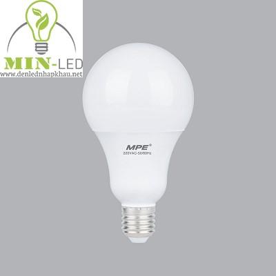 Đèn led Bulb MPE 5W LBS-5 trắng, vàng