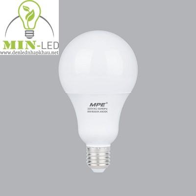 Đèn led Bulb MPE 7W LBL-7 trắng, vàng