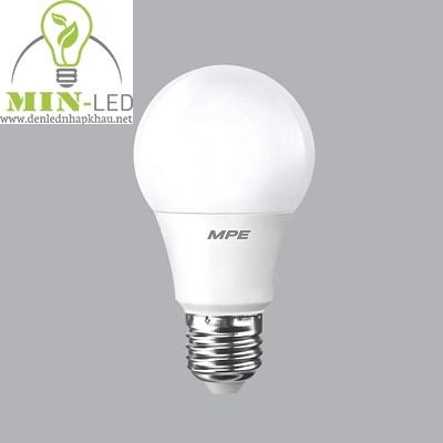 Đèn led Bulb MPE 9W Dimmer LB-9/DIM trắng, vàng